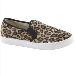 Women's Leopard Slip On Sneakers 7.5-10